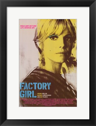 Framed Factory Girl Print