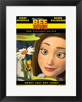 Framed Bee Movie Renee Zellweger Print