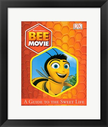 Framed Bee Movie Main Bee Print