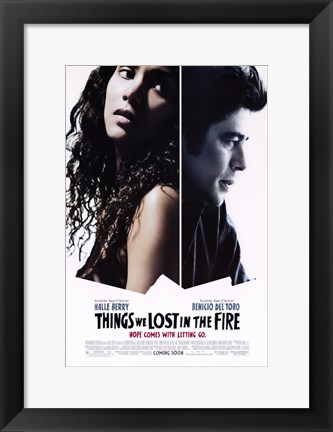 Framed Things We Lost in the Fire Print