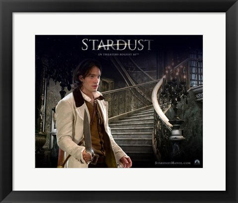 Framed Stardust Charlie Cox as Tristan Thorne Print