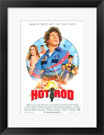 Framed Hot Rod Print