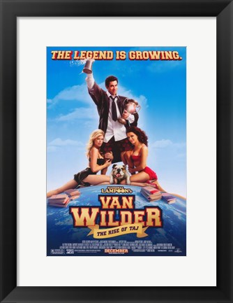 Framed National Lampoon's Van Wilder: The Rise of Taj Print