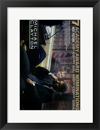 Framed Michael Clayton Print