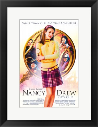 Framed Nancy Drew Print