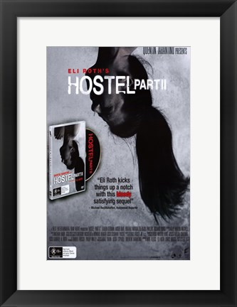 Framed Hostel Part II - CD Print
