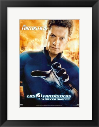 Framed Fantastic Four: Rise of the Silver Surfer - Mister Fantastic Print
