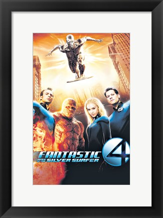 Framed Fantastic Four: Rise of the Silver Surfer Print