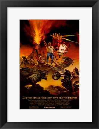 Framed Aqua Teen Hunger Force Colon Movie Film for Theaters Print