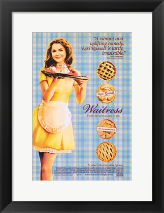 Framed Waitress Print