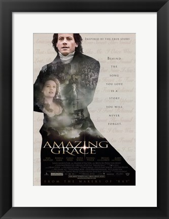 Framed Amazing Grace Print