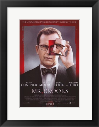 Framed Mr. Brooks Print