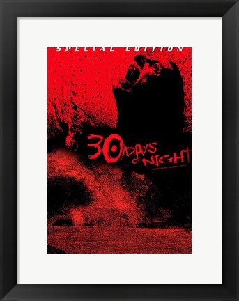 Framed 30 Days of Night Special Edition Print