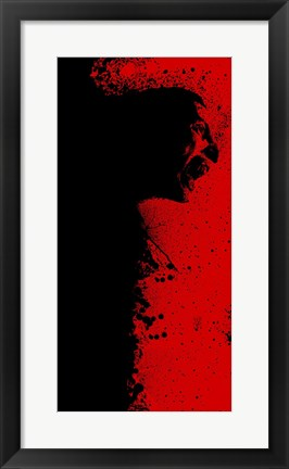 Framed 30 Days of Night Red and Black Print