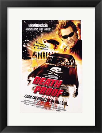 Framed Death Proof Print