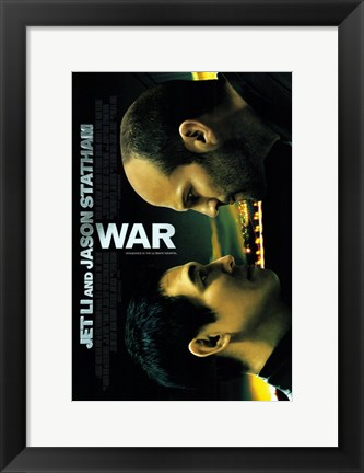 Framed War The Movie Print
