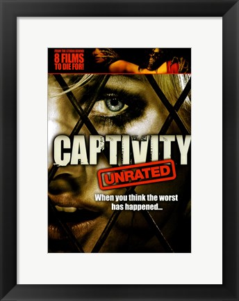 Framed Captivity 8 Films Print