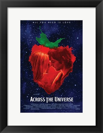 Framed Across the Universe: All You Need is Love Print