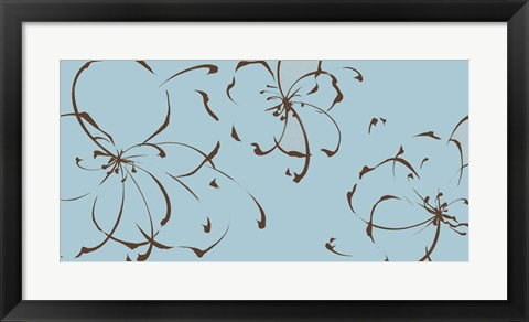 Framed Blooming Moments II Print