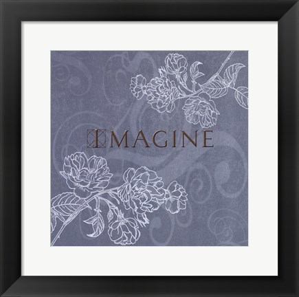 Framed Imagine Print