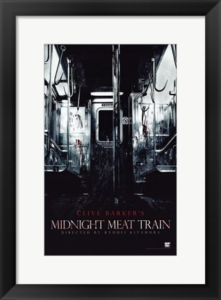 Framed Midnight Meat Train Print