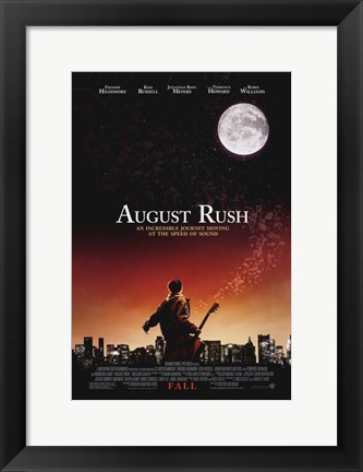 Framed August Rush Moon Print