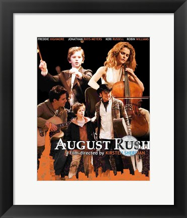Framed August Rush Kirsten Sherdan Print