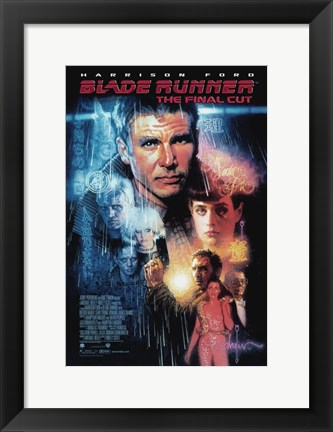 Framed Blade Runner - The Final Cut Print