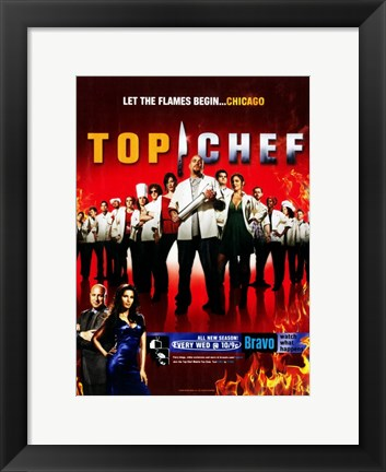 Framed Top Chef Print