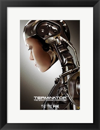 Framed Terminator: The Sarah Connor Chronicles - style F Print