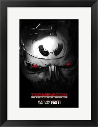 Framed Terminator: The Sarah Connor Chronicles - style I Print