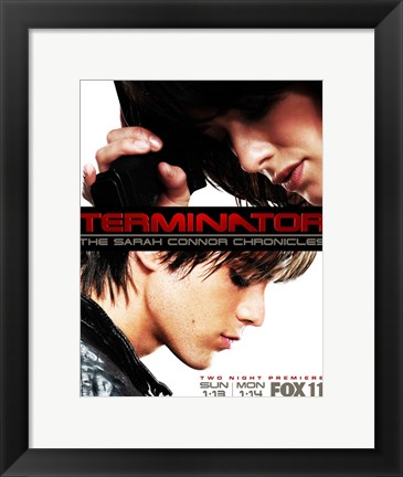 Framed Terminator: The Sarah Connor Chronicles - style J Print