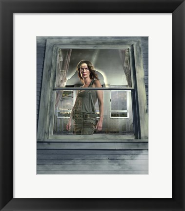 Framed Terminator: The Sarah Connor Chronicles - style N Print