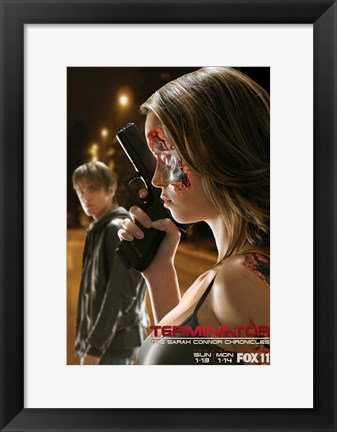 Framed Terminator: The Sarah Connor Chronicles - style R Print