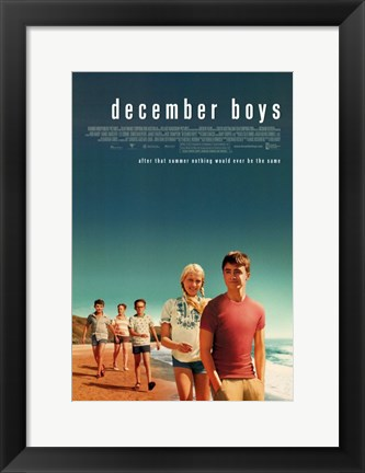 Framed December Boys Print
