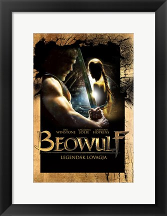 Framed Beowulf Hungarian Print