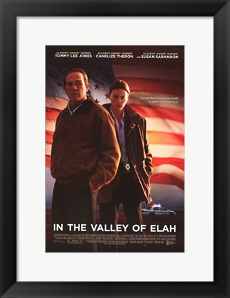 Framed In The Valley of Elah Print