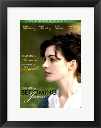 Framed Becoming Jane Green Print