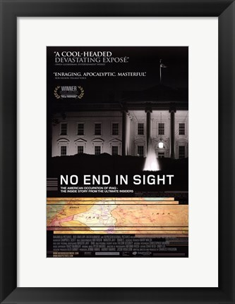 Framed No End in Sight Print