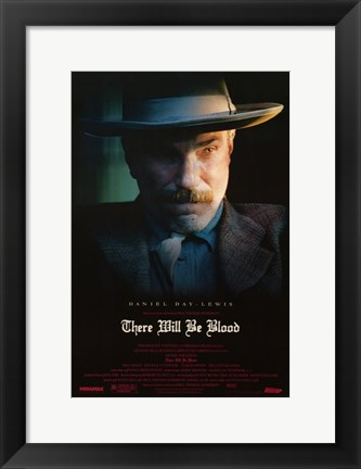 Framed There Will Be Blood Daniel Plainview Day-Lewis Print