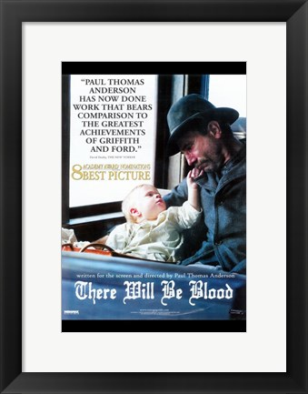 Framed There Will Be Blood Paul Thomas Anderson Print
