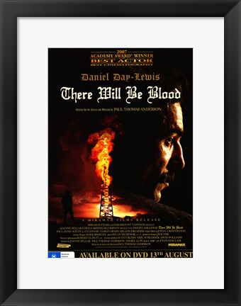 Framed There Will Be Blood Best Actor Print