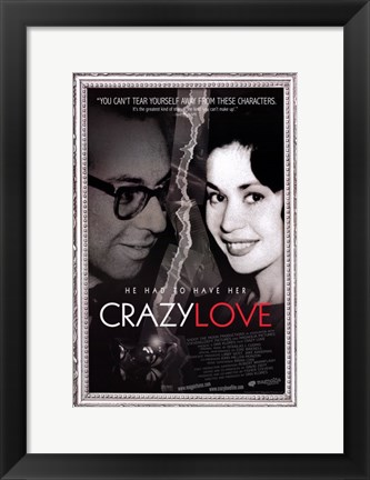 Framed Crazy Love Print