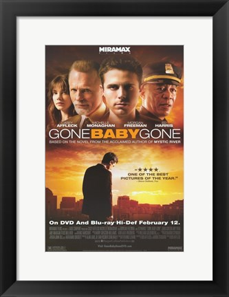 Framed Gone Baby Gone Print