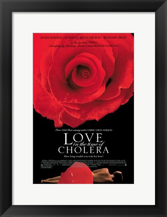 Framed Love In the Time of Cholera Print