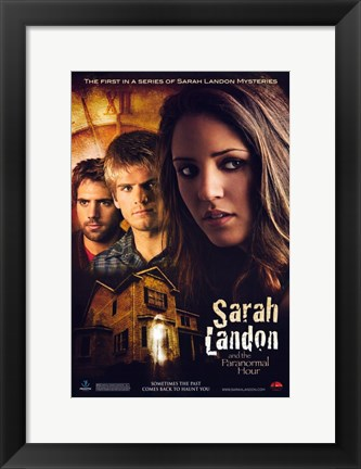 Framed Sarah Landon and the Paranormal Hour Print