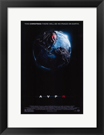 Framed Aliens Vs. Predator: Requiem Print