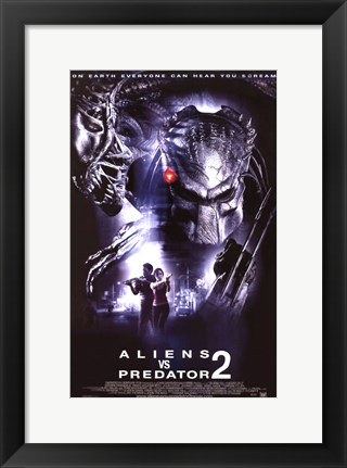 Framed Aliens Vs. Predator: Requiem Movie Print