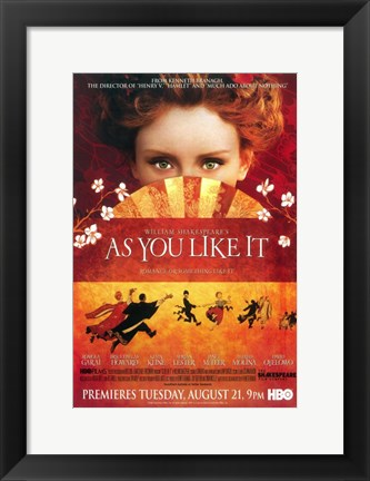 Framed As You Like It Print