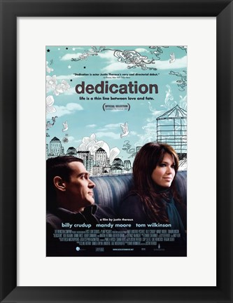 Framed Dedication Print